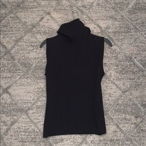 Brand new Express Black Turtle- Neck Cropped Tank